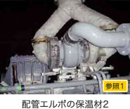 配管エルボの保温材2